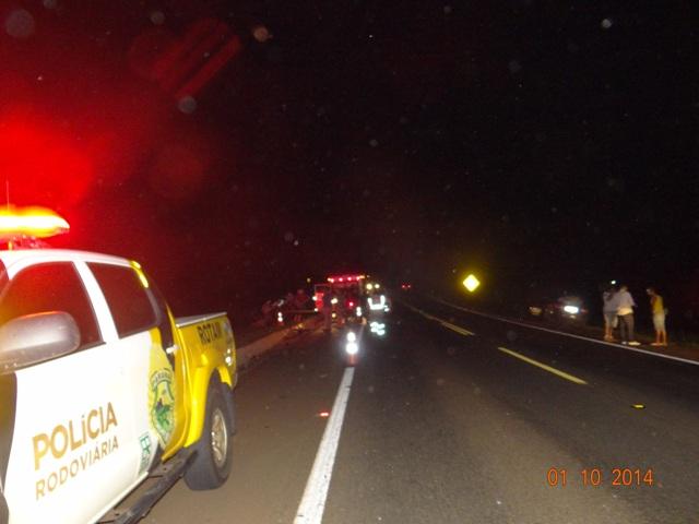 Homem perde a vida em colisão na PR 445 em Cambé