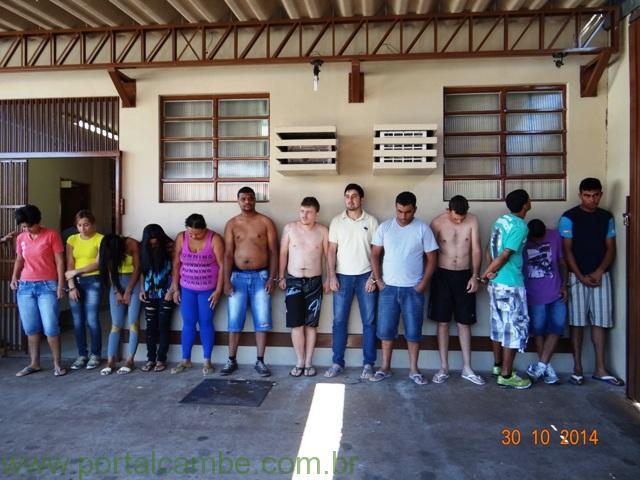 Polícia Civil de Cambé deflagra operação contra o tráfico de drogas