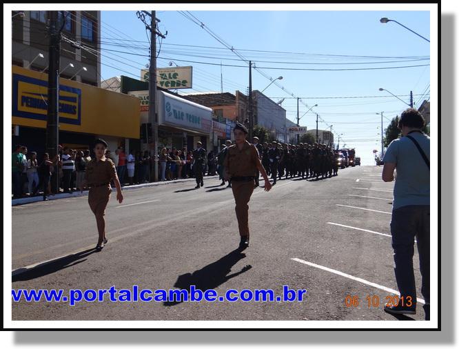 Desfile comemorativo de aniversário de Cambé será realizado dia 19 de outubro