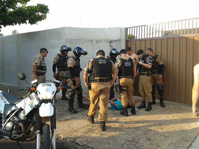 Foragido da Colonia Penal Agrícola é preso após cometer assalto em Cambé