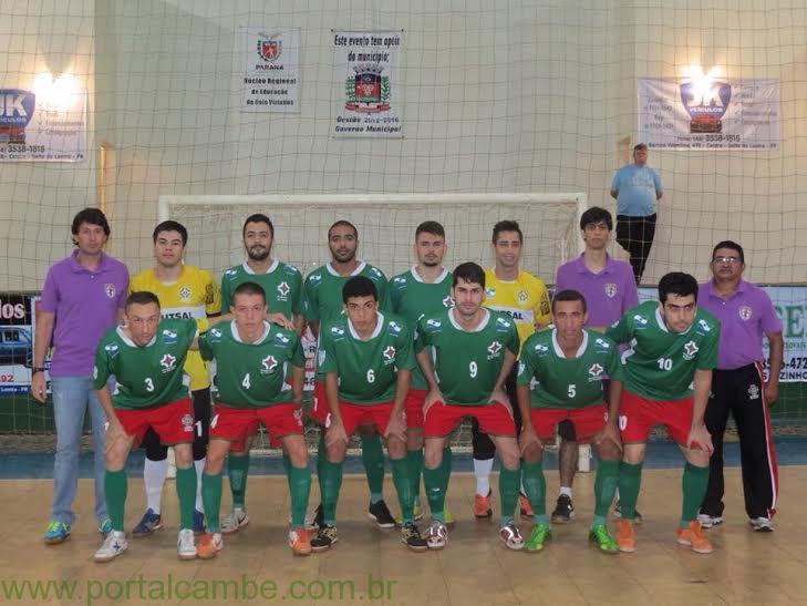 Em jogo de 90 minutos, Cambé Futsal goleia e encosta na classificação