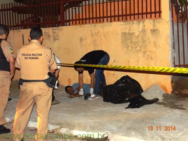 Homem de 40 anos é executado no Jardim Riviera em Cambé