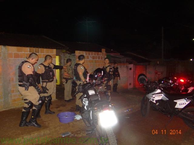 Polícia Militar apreende grande quantidade de drogas no Jardim Josiane em Cambé
