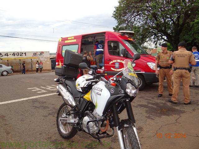 Idosa foi atropelada no Av. Roberto Conceição em Cambé