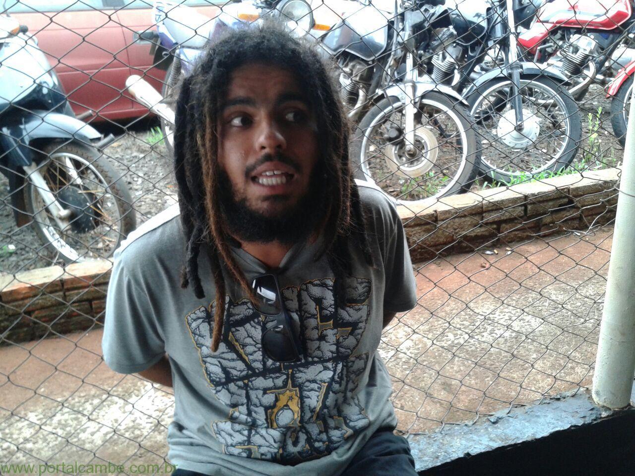 Polícia Militar prende Bob Marley em Cambé