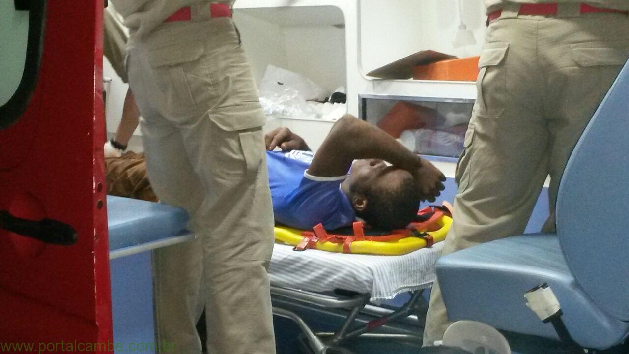 Foragido resiste a prisão é ferido foge mas se entrega a Polícia em Cambé
