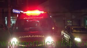 Homem de 34 anos tem traumatismo craniano ao cair de motocicleta em Cambé