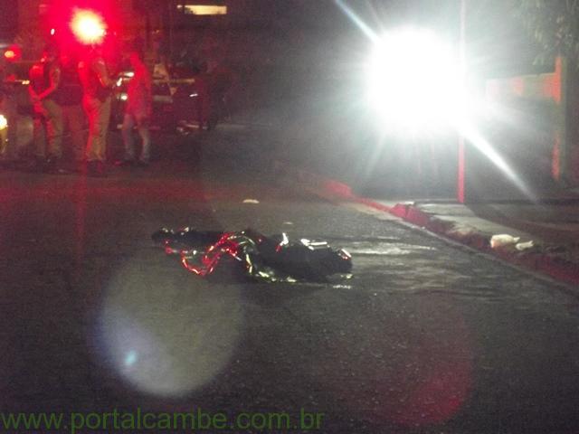 Jovem de 17 anos é executado no Jardim Josiane em Cambé