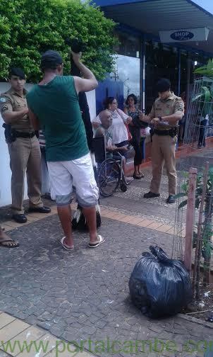 Cadeirante é assaltado no centro de Cambé