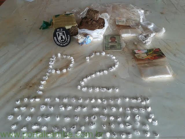 Polícia Militar apreende grande quantidade de drogas em Cambé