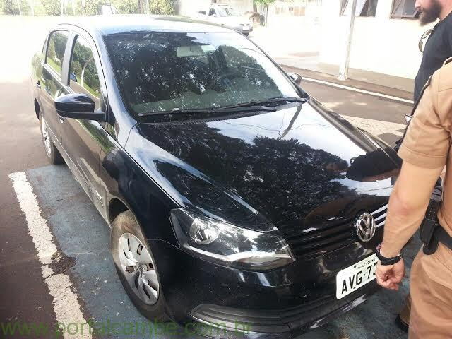 Casal de Cambé foi preso em Arapongas acusados de furto de veículos