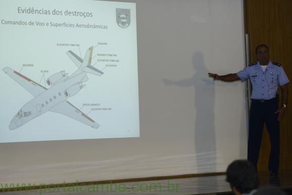 Relatório do Cenipa é inconclusivo sobre causas de acidente com avião de Campos
