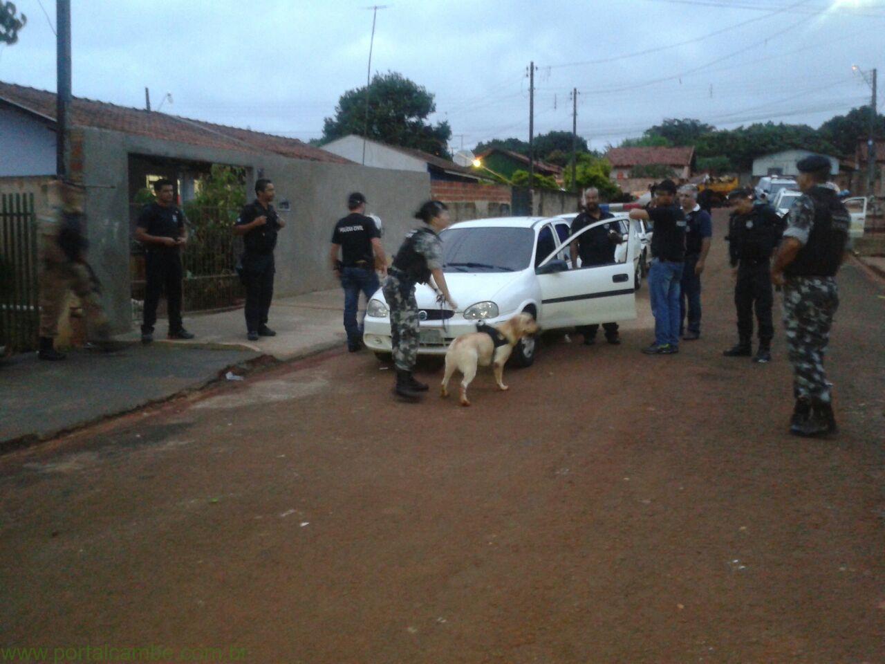Homem é preso em operação para combater o tráfico em Cambé