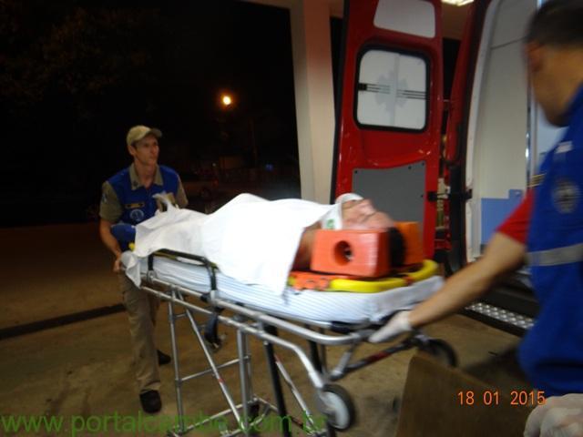 Vitima de acidente de Motocicleta morre no hospital em Cambé