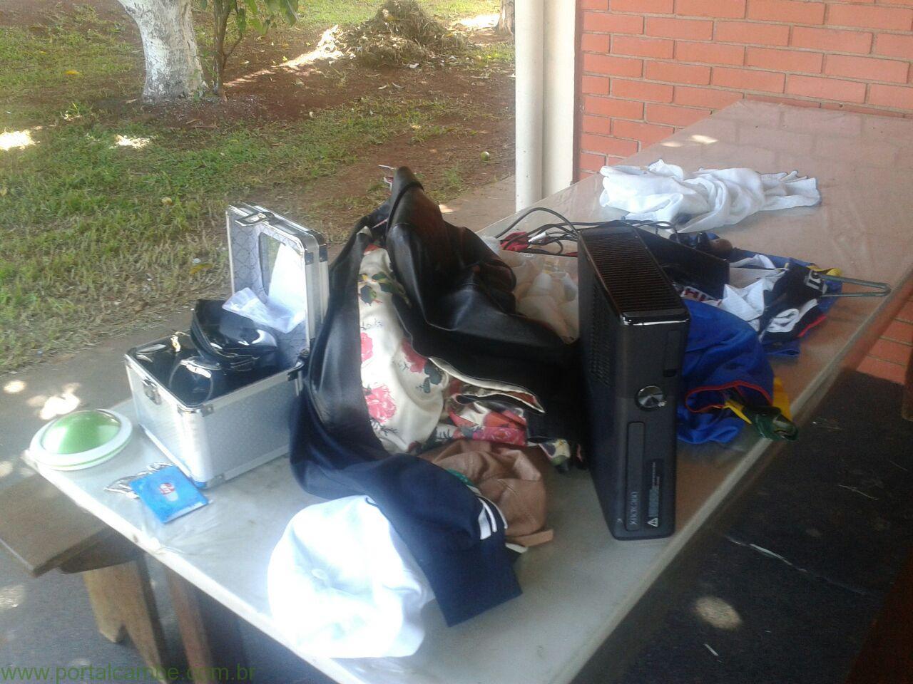 Polícia Militar prende bandidos logo após tentativa de furto a residencia em Cambé