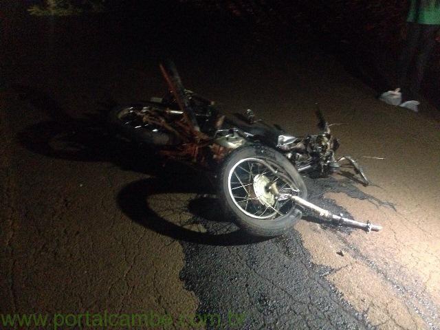 Acidente gravíssimo deixa uma pessoa morta na Av. José Bonifácio em Cambé