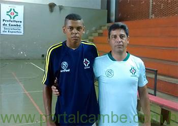 Cambeense é convocado para Seleção Paranaense de Basquete-Sub 15