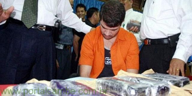 Paranaense deve ser fuzilado em fevereiro na Indonésia