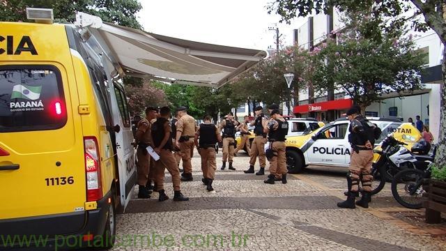 Policia Militar faz abertura da operação carnaval 2015 em Cambé