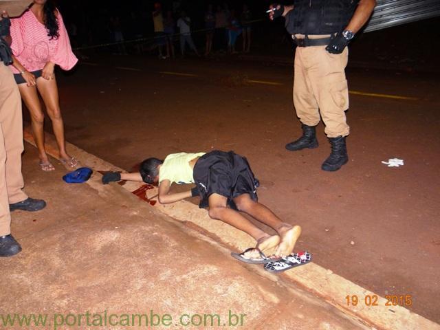 Jovem de 17 anos é executado no Jardim Campos Verdes em Cambé