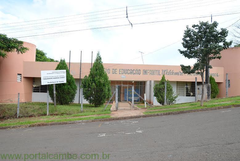 Centro Municipal de Educação Infantil (CMEI) Waldomiro Moreira Gomes inicia suas atividades com novidades