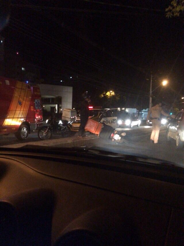 Cambeense morre em acidente na Av. Maringa em Londrina