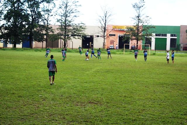 CAC e LEC treinam mo mesmo local em Cambé