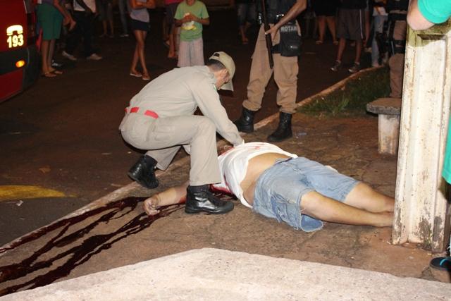 Homem de 35 anos é assassinado no Jardim Ana Rosa em Cambé