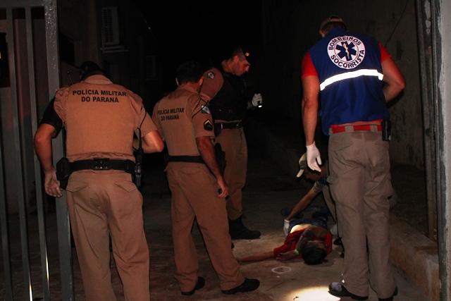 Jovem de 20 anos é executado na Vila Guarani em Cambé