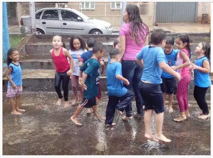 Turma dos Cientistas trabalhou o tema água no CEI Jamile Aiub Hauly