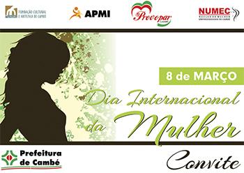 Mês Internacional da Mulher tem extensa programação em Cambé