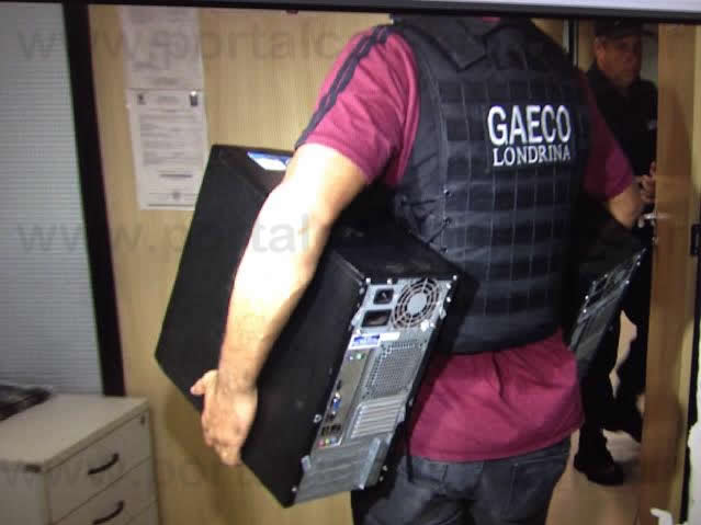 GAECO prende empresário de Cambé por suspeita de superfaturamento de Contrato