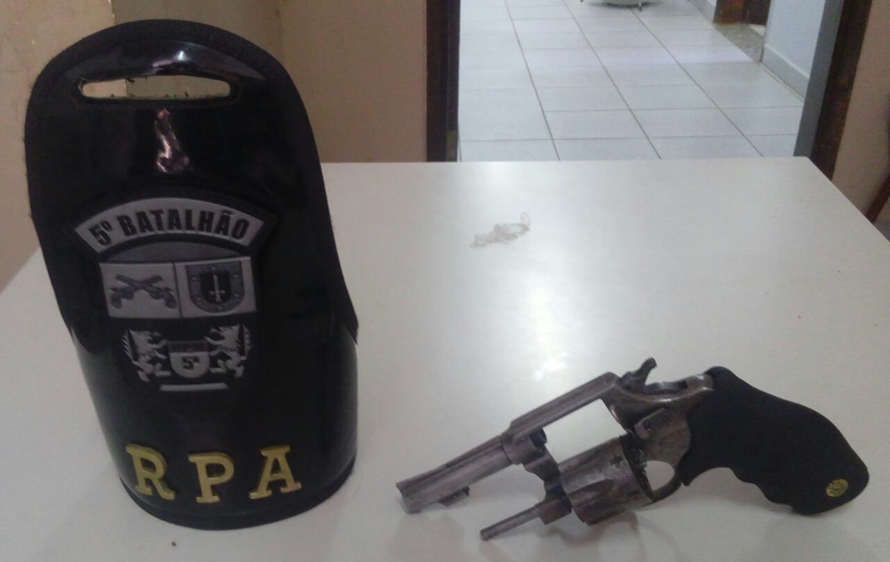 Menor armado de revolver tenta assaltar onibus do transporte coletivo em Cambé