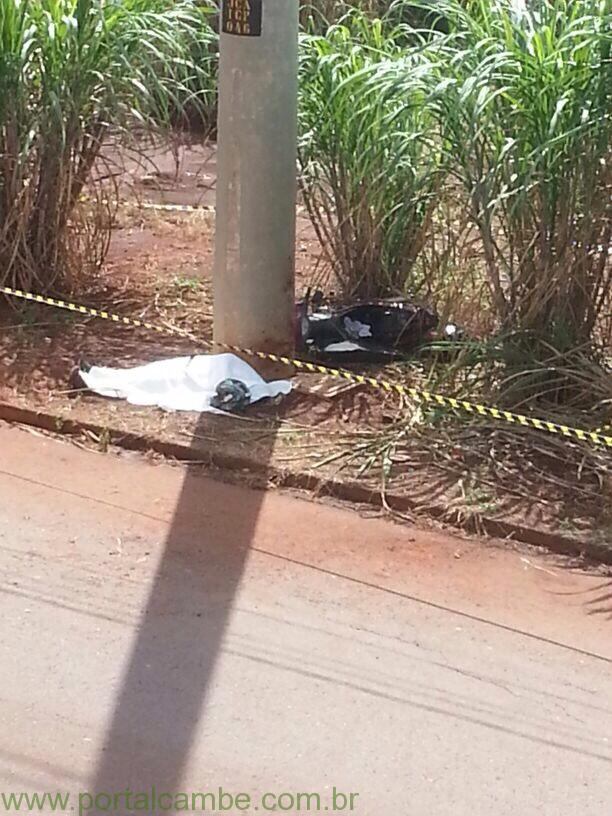 Jovem de 21 anos perde a vida em acidente de motocicleta próximo ao Shopping Catuai