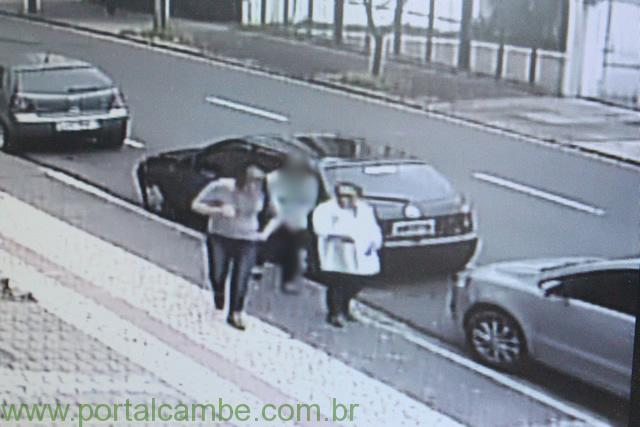 """Polícia Civil de Cambé prende dupla acusada de praticar o """"Golpe do Bilhete premiado"""" (Vídeo)"""