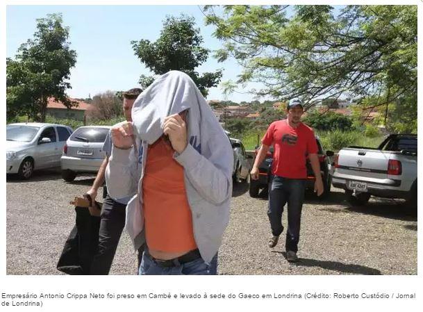 Polícia Militar de Cambé prende jovem após praticar roubo com simulacro