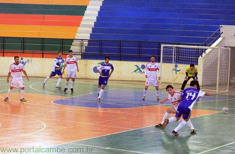 Cambé Futsal vence fora de casa na estréia do Paranaense Chave Bronze