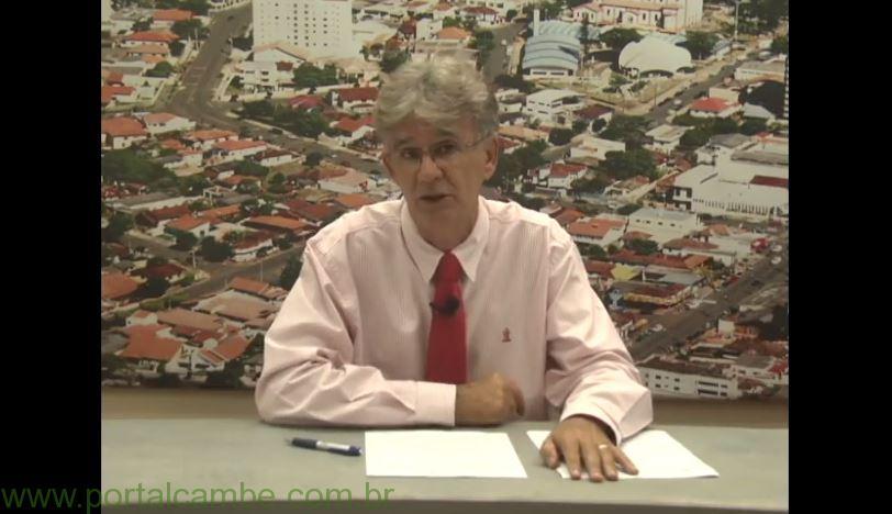Jornal da RTV Canal 36 de 20/04/2015 – Apresentação Benê Filho (Vídeo)
