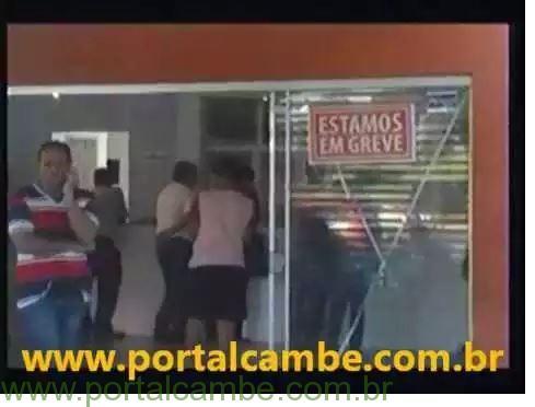 Secretária de Saúde acusa grevistas de causarem tumulto na UPA de Cambé (Vídeo)