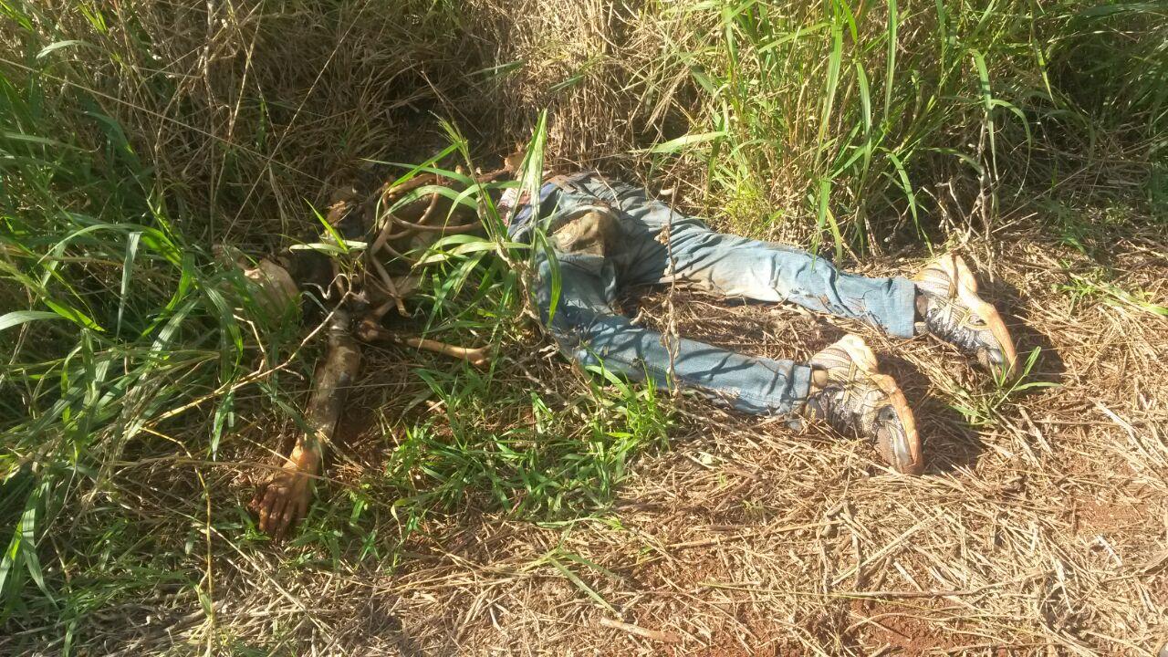 Produtor rural encontra cadáver ao lado de riacho em Londrina