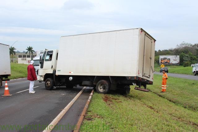 Pedestre é atropelado na BR 369 em Cambé na manha desta segunda-feira (18)
