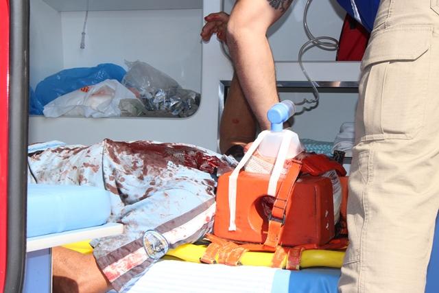 """Homem de 48 anos fica ferido após """"tijolada"""" na cabeça em Cambé"""