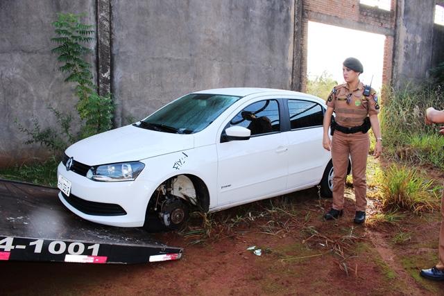 Veículo roubado em Londrina é recuperado em Cambé