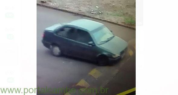 Polícia Civil de Cambé procura elementos que realizaram furto no Jardim Montecatini