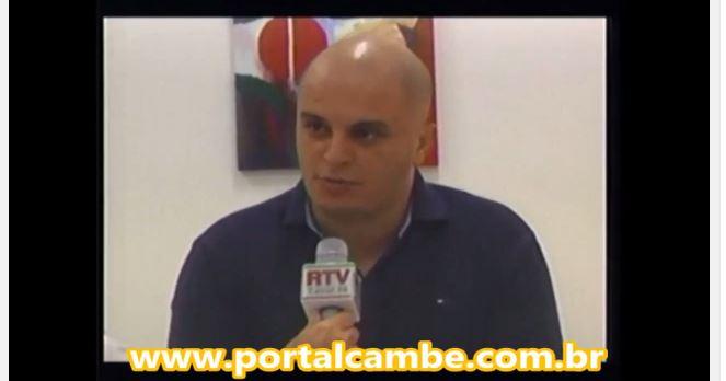 Presidente da Câmara de Vereadores fala sobre a Lei de Zoneamento de Cambé (Vídeo)