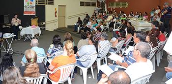 Terceira Pré-conferência Municipal de Saúde reúne 80 pessoas no Jardim Santo Antônio