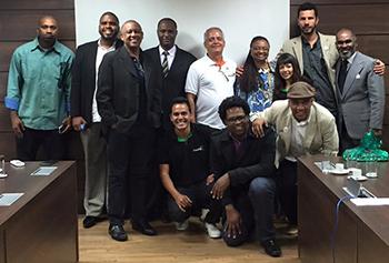 Zé da CUFA e membros da Central Única das Favelas tem encontro com a ministra Nilma Lino em Brasilia