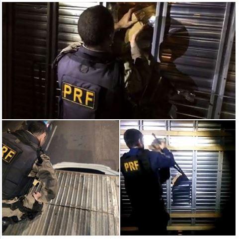 PRF apreende 1,7 tonelada de maconha em fundo falso de caminhão e faz a 2ª maior apreensão do ano no Paraná