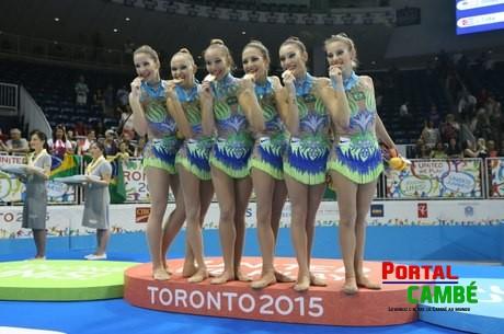 Cambeense ganha medalha de ouro no Pan-Americanos 2015