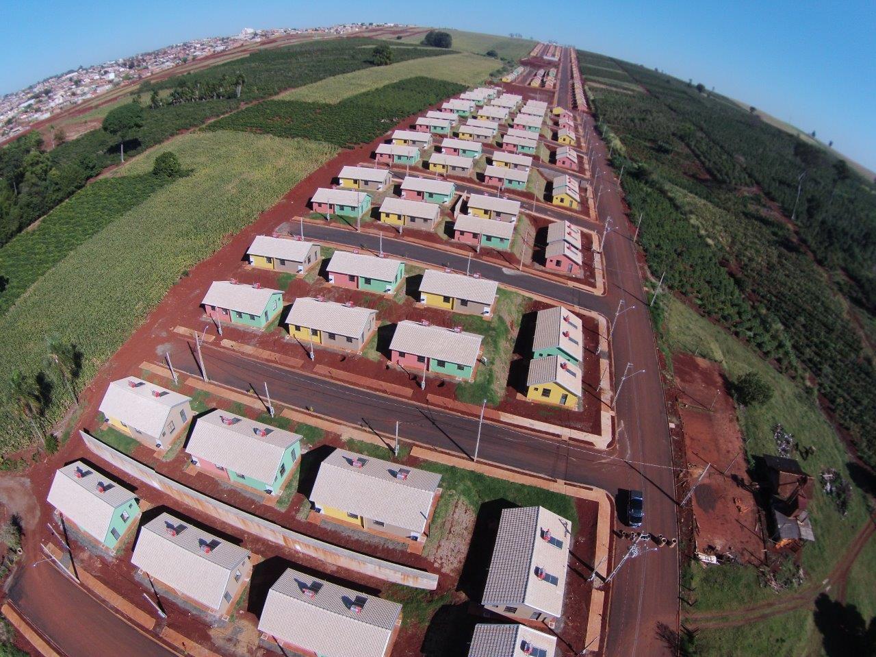 Casas do Conjunto Ulysses Guimarães serão entregues em Cambé